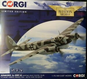 Corgi Aviation JunkersJu 88C 6 Maritime Heavy Fighter Battle Over Biscay AA36711 GBP 99.49