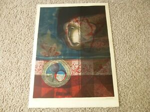 SUNOL ALVAR LITHOGRAPH SIGNED NUMBERED MID CENTURY #93 99 $125.00