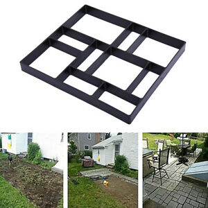 Driveway Paving Pavement Mold Patio Concrete Stepping Stone Mould Path Maker