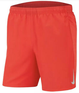 "Nike Flex Stride 7"" Running Shorts University Red Men's Size Large $59.99"