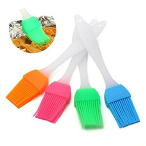 US STOCK 4 12 20PCS Oil Brush Silicone Baking Pastry Cream For BBQ Basting