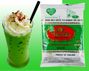 Number One Brand ChaTraMue Original Thai Tea Green Tea Mix 200 g.