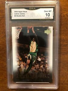 2003 Lebron James Box Set Rookie RC GMA Graded Basketball Cards You Pick