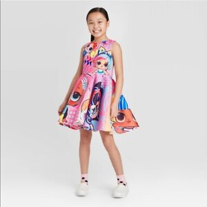 LOL SURPRISE Dress for Girls Sizes M 7 8 NEW