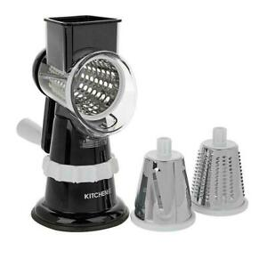 Kitchen HQ Speed Grater and Slicer with Suction Base Black get it fast with us