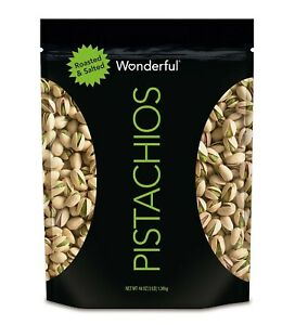 Wonderful Pistachios, Roasted and Salted (48 oz.) Pantry Nuts Party Food