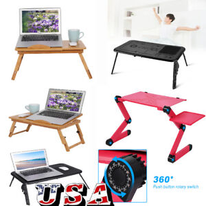 Portable Table Car Bed Sofa Folding for Laptop Notebook Desk Stand Tray Stand US