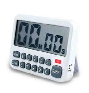 Electric Kitchen Timer Home Reminder Baking Timer 9 Hours/99 Minutes Countdown