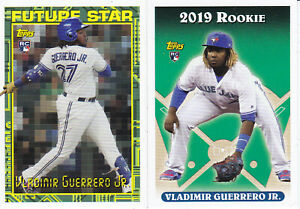 Vladimir Guerrero 2019 Topps Archives # 324 SP & '94 Future Star RC