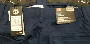 NEW $80 Under Armour Showdown Vented Golf Pants Navy 38 x 30 $28.00