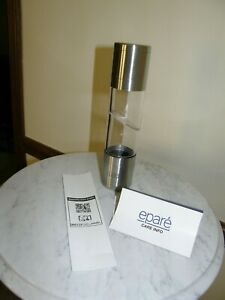 3964) Epare' Salt and Pepper 2 in 1 Dual Mill Grinder 9.75