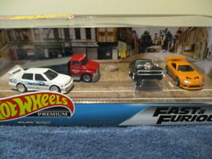 HOT WHEELS 2020 FAST & FURIOUS 4 CAR SET