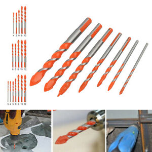 5/7 Pack Multifunctional Drill Bits Ceramic Glass Punching Hole Working Sets