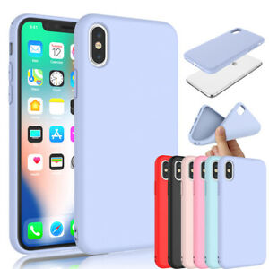 For iPhone 11 Xs Max XS XR SE 2 7 8 6S Plus Silicone Case Cute Cover Shockproof