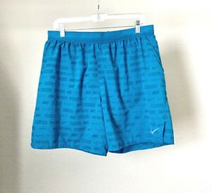Nike JDI Just Do It Stride Flex Ghost Flash Running Shorts 929808 301 Mens XL $22.95