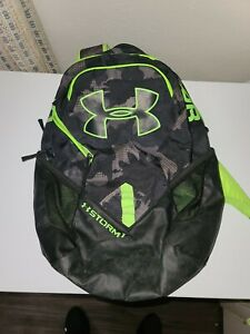 Under amour storm 1 laptop school Backpack Green and black $16.99