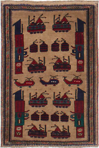 Hand-knotted Carpet 2'11