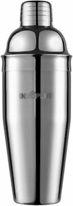 Cocktail Shaker, Martini Shaker Food Grade Stainless Steel,25 Ounce Drink Shaker