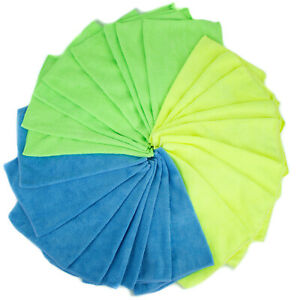 4 Pack Microfiber Cleaning Cloth None-Scratch Rag Car Polishing Detailing Towel
