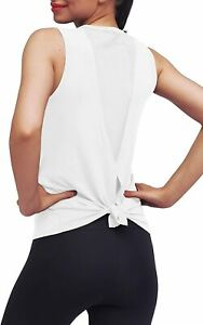 Mippo Womens Cute Workout Clothes Mesh Yoga Tops Exercise Gym Shirts Running Tan $36.60