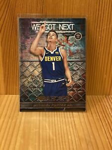 Michael Porter Jr 2018 19 Panini NBA Hoops We Got Next #14 Rookie Card Nuggets