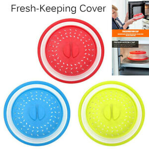 Multifunctional Collapsible Microwave Cover Silicone Fruit Vegetables Plate fm*