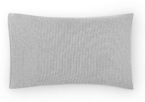 CALVIN KLEIN MODERN COTTON JARED STRIPE GRAY STANDARD PILLOWCASES NIB