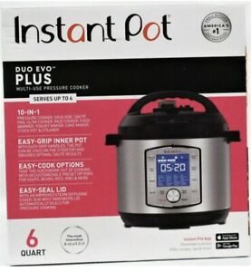 Instant Pot 10-in-1 Duo Evo Plus 6 qt Multi-Use Pressure Cooker, Brand New