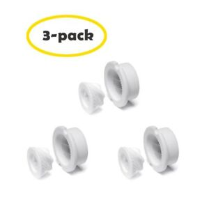 3 Pack Ceramic Grinder Wood Core Salt Pepper Mill Blades Replacement Parts