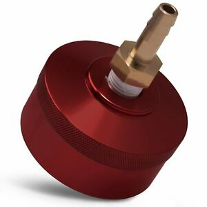 Red Extended Run Gas Cap with Brass Hose for Honda Generator EU1000i EU2000i