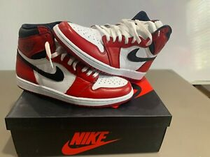 Chicago Jordan 1 Bloodline Custom size 11.5 ANALYZE