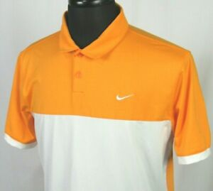 Men's Nike Golf Dri Fit Short Sleeved Poly Spandex Stretch Polo Shirt Medium $15.00