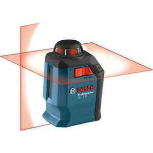 Bosch 360 Degree Line and Cross Laser GLL2 20 RT Certified Refurbished $119.99
