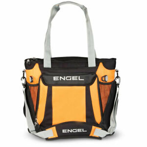 Engel ENGCB2 23 Quart Insulated Water Resistant Backpack Cooler Bag, Orange