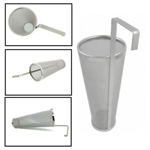 Stainless Steel With Hook Wine Beer Filter Brewing Hop Reusable Strainer Hopper