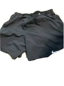 "Mens Nike 2 in 1 7"" Running Shorts Size XL 834222 010 $39.99"