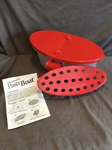 MICROWAVE PASTA BOAT BY TELEBRANDS AS SEEN ON TV