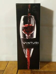 NEW Vinturi V1010 Essential Wine Aerator with No Drip Stand and Filter