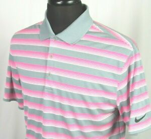 Men's Nike Golf Dri Fit Tour Performance 100% Polyester Polo Shirt Medium $16.50