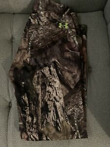 Under Armour Camo Men's Size 30 32 Mossy Oak Hunting Pants 1279682 278 $60.00