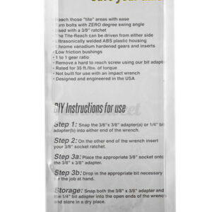 Universal Extension Wrench Adjustable Torque Wrench 1/4'' 3/8'' DIY Hand Tool US