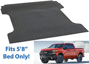 Dee Zee DZ87019 Bed Mat For 2019 Silverado amp; Sierra 5#x27;8quot; Bed New Free Shipping