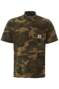 NEW Carhartt camouflage southfield shirt I027510 03 Camou Laurel AUTHENTIC NWT