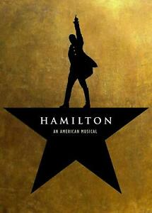 Hamilton an American Musical Broadway Paper Poster - No Frame