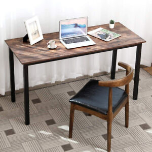 Home Office Computer Desk Furniture Wood Laptop Table Study Writing Workstation $115.99