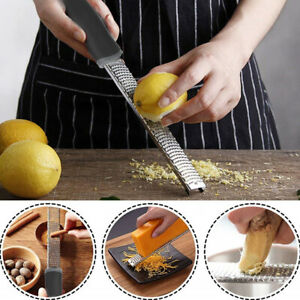 Stainless Steel Cheese Grater Lemon Fruit Grating Tool for Home Kitchen Supplies