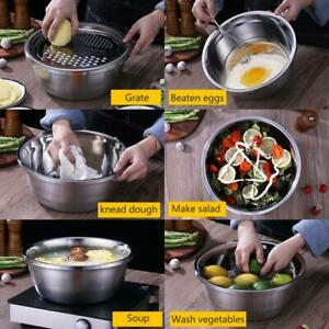 3PCS/Set Kitchen Graters Cheese Grater Drain Basin for Vegetables Fruits Salad