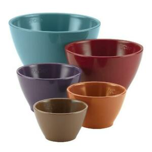 Rachael Ray 5 cups Cucina Measuring cup set, Multicolor