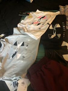 Girls Teens Under Armour Athletic Clothing Wear Girls 10 12 Lot $75.00