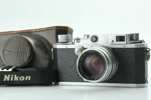 *EXC* Canon II F Rangefinder Camera W 50mm F1.8 MF L39 Lens from Japan